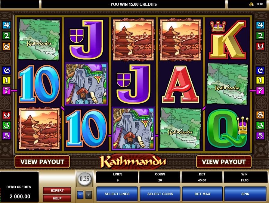 Kathmandu Slot Machine